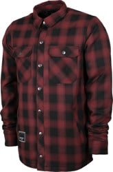 L1 Westmont Insulated Flannel Shirt - wine