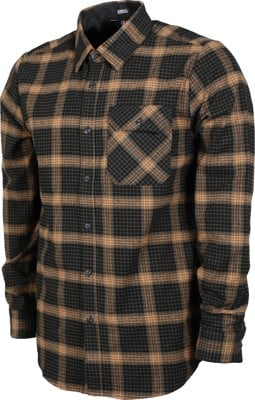 Volcom Girl Skateboards Flannel Shirt - black - view large
