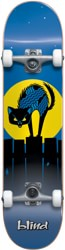 Blind Nine Lives Micro 6.75 Soft Top Complete Skateboard - blue