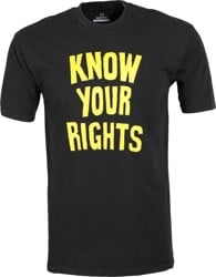 Brixton Strummer Know Your Rights II T-Shirt - black