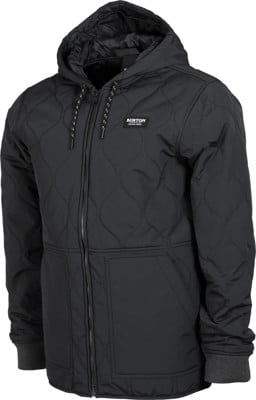 Burton Mallet Hooded Jacket - true black - view large