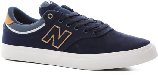 New Balance Numeric 255 Skate Shoes - navy/tan - view large