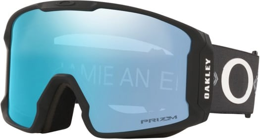 Oakley Line Miner XL Goggles - jaime a sig harmony vibes black/prizm sapphire iridium lens - view large