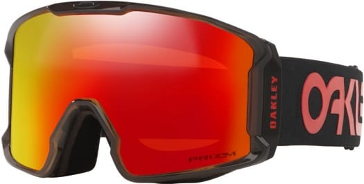 Oakley Line Miner XL Goggles - scotty james sig crystal black/prizm torch iridium lens - view large