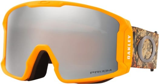 Oakley Line Miner XL Goggles - kazu sig kamikazu derma orange/prizm black iridium lens - view large