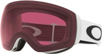 Oakley Flight Deck XM Goggles - matte white/prizm dark grey lens
