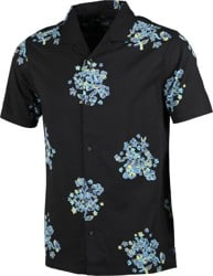 Roark Forget Me Not S/S Shirt - black