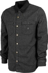 Roark Nordsman Cotton Flannel Shirt - charcoal