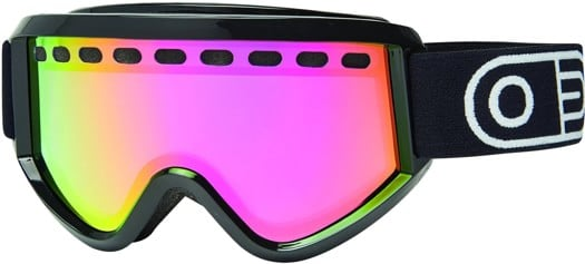 Airblaster Pill Air Goggles - black gloss/red air radium lens - view large