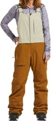 Airblaster Sassy Hot Bib Pants - sand grizzly