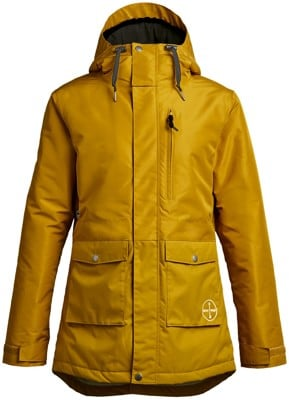 Airblaster Stay Wild Parka Insulated Jacket - dark gold - view large