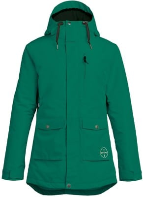 Airblaster Stay Wild Parka Insulated Jacket - surf pine - view large