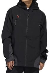 Adidas 3L Jacket - black/utility black/signal orange