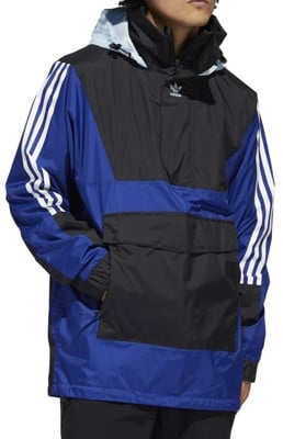 Adidas Anorak Jacket - mystery ink/black/ice blue - view large