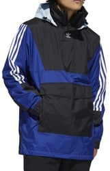 Adidas Anorak Jacket - mystery ink/black/ice blue