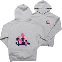 Tactics Kids Roller Pullover Hoodie - heather grey