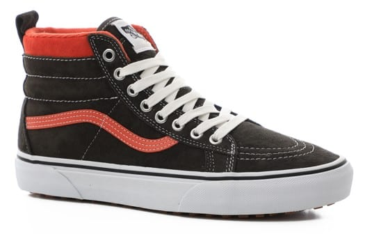 Vans Women's Sk8-Hi MTE Shoes - (mte) suede/black olive - view large