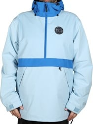 Airblaster Trenchover Jacket - max warbington blue