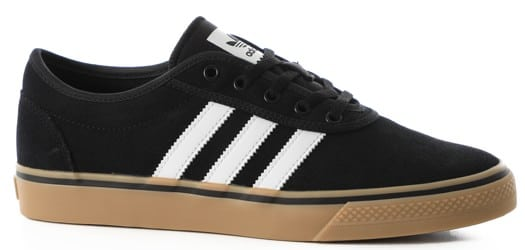 Adidas Adi Ease Skate Shoes - core black/cloud white/gum - view large