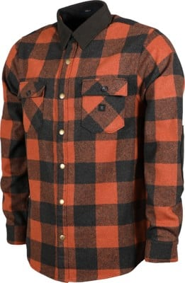 Roark Nordsman Flannel Shirt - rust - view large