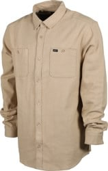 RVCA Harvest Flannel Shirt - khaki