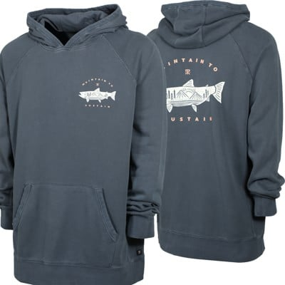 Roark Salmon Mountain Hoodie - navy - view large