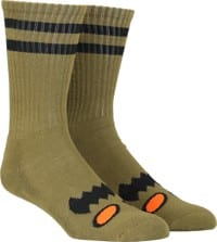 Toy Machine Monster Face Sock - moss