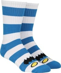 Toy Machine Monster Big Stripe Sock - royal