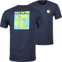 HUF Make Em Cry Dude T-Shirt - french navy