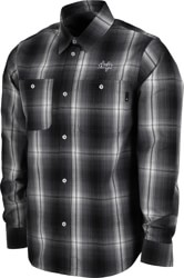 HUF Sanford Flannel Shirt - black