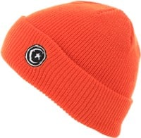 Foundation Star & Moon Cuffed Beanie - orange