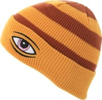 Toy Machine Sect Eye Dock Beanie - mustard stripe