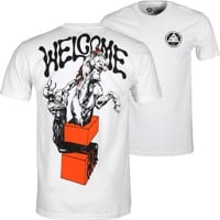 Welcome Hierophant Premium T-Shirt - white