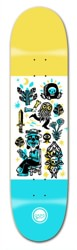 Roger Skateboards Peace Dog 8.12 Skateboard Deck