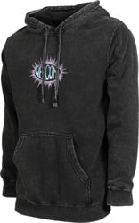 Welcome Burst Hoodie - mineral black