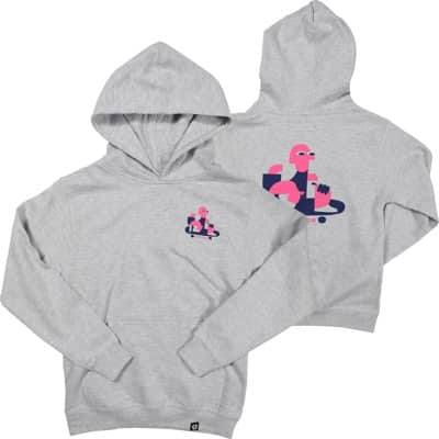 Tactics Kids Roller Pullover Hoodie - heather grey - view large