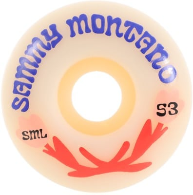 Sml. Montano Love OG Wide Skateboard Wheels - white (99a) - view large