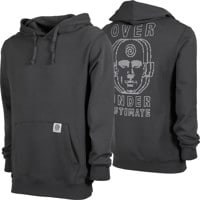 Madness Over Under Hoodie - vintage black