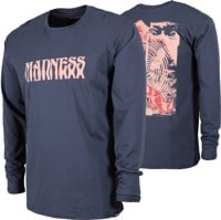 Madness Destruction L/S T-Shirt - midnight navy