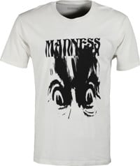 Madness Smear T-Shirt - bone