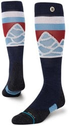 Stance Performance Merino Wool All Gender Snowboard Socks - spillway navy