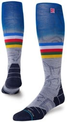 Stance Jimmy Chin Ultralight Merino Wool Snowboard Socks - jc 2