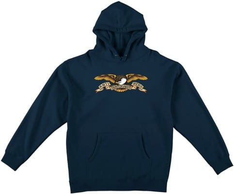 Anti-Hero Kids Eagle Hoodie - classic navy - view large