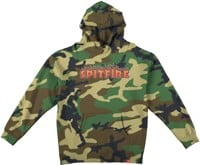 Spitfire Kids Flash Fire Hoodie - forrest camo
