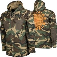 Spitfire Classic 87' Swirl Hooded Coach Jacket - camo