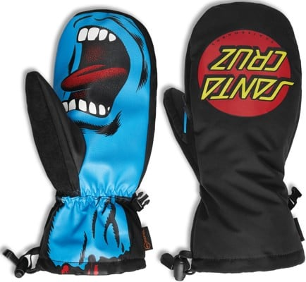 Thirtytwo Santa Cruz Mitts - black/blue - view large
