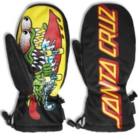 Thirtytwo Santa Cruz Mitts - black/yellow