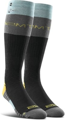 Thirtytwo Signature Merino Wool Snowboard Socks - black (jp walker) - view large
