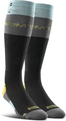 Thirtytwo Signature Merino Wool Snowboard Socks - black (jp walker)