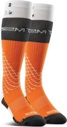 Thirtytwo Signature Merino Wool Snowboard Socks - orange (nicolas muller)
